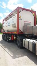 contenitore cisterna 20 piedi VAN HOOL ОРЕНДА / Охолодження -10 / Підігрів + 80