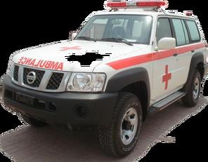 ambulanza NISSAN Patrol 4.0 XE AT nuova