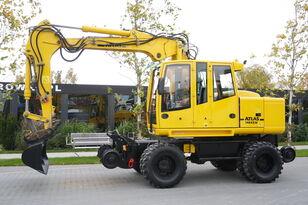 escavatore gommato ATLAS Road-rail excavator Atlas 1404ZW