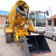 escavatore gommato LUZUN selfloading concrete mixer nuovo