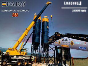 impianto di betonaggio FABO MIX COMPACT-110 CONCRETE PLANT | CONVEYOR TYPE nuovo
