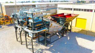 impianto di betonaggio FABO TURBOMIX-120 MOBILE CONCRETE PLANT READY IN STOCK nuovo
