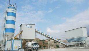 impianto di betonaggio SEMIX  Stationary 160 STATIONARY CONCRETE BATCHING PLANTS 160m³/h nuovo