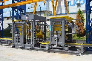 macchina per produzione blocchi di cemento ELKON ELKOBLOCK-36S FULLY AUTOMATIC SINGLE LAYER Concrete Block Machin nuova