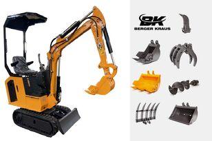 miniescavatore BERGER KRAUS Mini Excavator BK800B with FULL equipment nuovo