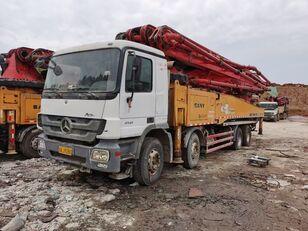 pompa per calcestruzzo SANY 2012 56m on BENZ-4141