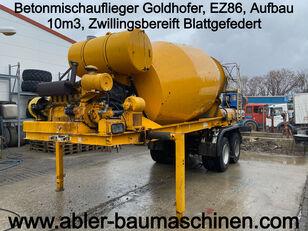 semirimorchio betoniera GOLDHOFER
