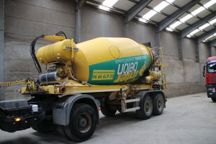 semirimorchio betoniera LIEBHERR BETON MIXER HTM 1004 ZA - 10 M³