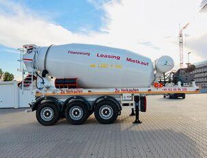 semirimorchio betoniera SCHWARZMÜLLER TTC-Fulda Betonmischer Auflieger mit Motor  NEU