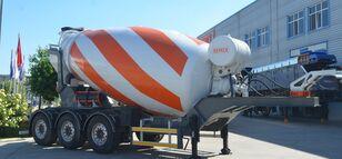 semirimorchio betoniera SEMIX Malaxeur du Beton 12 nuovo
