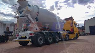 semirimorchio betoniera STU 12.7 CBM MIXER TRAILER nuovo